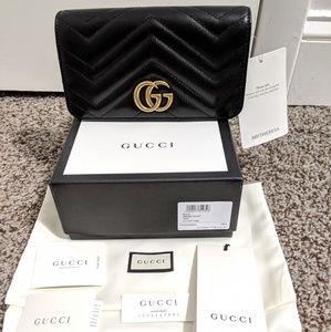 NWT Gucci Marmont 2.0 mini shoulder bag